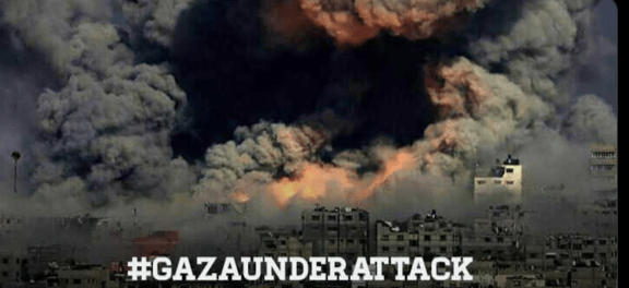 Roket Palestina Hujani Israel