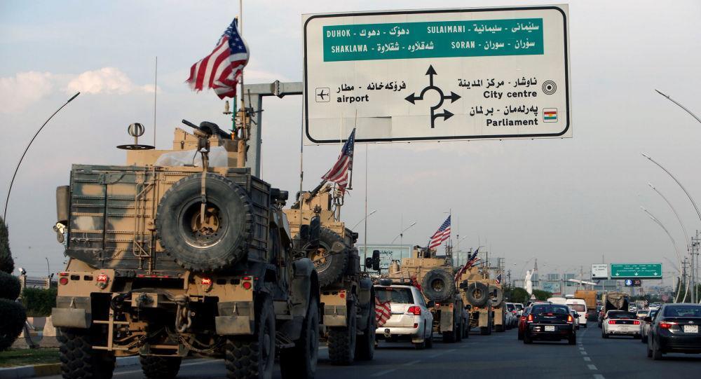17 Roket Hantam Markas Militer AS di Al- Qayyarah, Irak