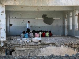 Penduduk Taiz: Bukan Houthi yang Membunuh Kami Tapi Koalisi Saudi