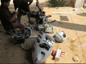 Tentara Yaman, Drone Koalisi Saudi, Perang Yaman