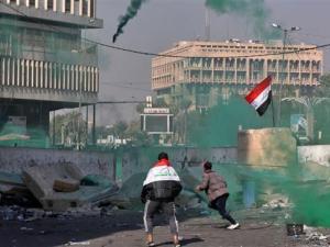 Menhan Irak: Ada Pihak Ketiga yang Tembaki Demonstran