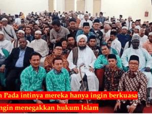Habib Ali Al-Jufri: Seruan Khilafah Ingin Rebut Kekuasaan Bukan Tegakkan Islam