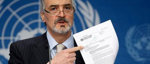 Ja'afari Bantah Perjanjian Gencatan Senjata di Idlib