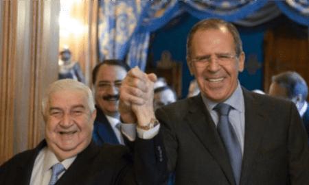Lavrov ke Muallem: Rusia Pasti Kembalikan Kedaulatan dan Integritas Suriah