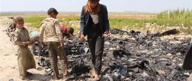 Yaman Tembak Jatuh Drone Saudi di Provinsi Hajjah