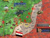 Pertahanan Teroris Rontok Seiring dengan Direbutnya 7 Kota oleh Tentara Suriah