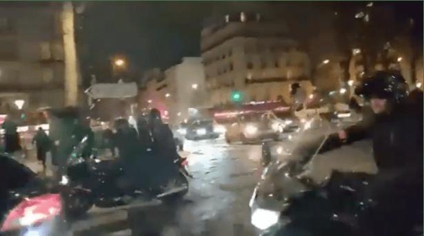 Video: Panik Diserbu Pendemo, Macron dan Istri Dievakuasi dari Gedung Teater Paris