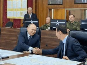 Putin Mendadak Kunjungi Suriah Ditengah Memanasnya Situasi Timur Tengah