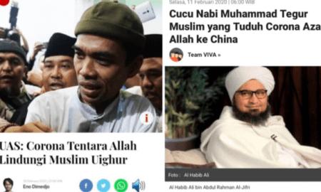 Pesan Habib Ali Al-Jufri Bungkam Komentar Rasis UAS Soal Virus Corona