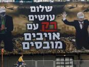 Papan Iklan di Tel Aviv Hasut Kebencian Terhadap Palestina