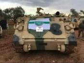 Teroris Gunakan Kendaraan Lapis Baja Buatan AS di Idlib