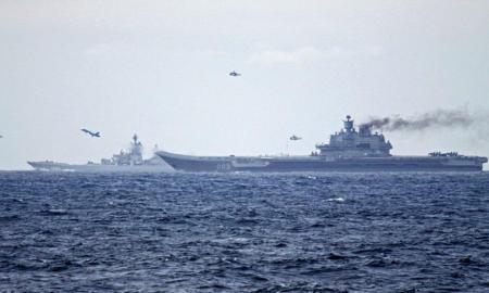 Angkatan Laut Rusia Lacak Kapal Perang AS di Laut Hitam