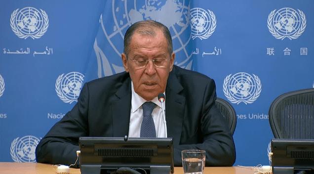 Lavrov Kecam Pernyataan AS tentang Kesepakatan dengan Teroris di Idlib