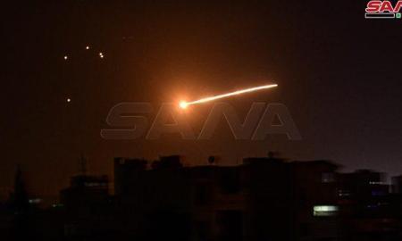 Pertahanan Udara Suriah Hadapi Serangan Rudal Israel