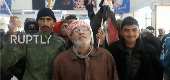 Pasca Bentrokan, Warga Demo Tolak Kehadiran Pasukan AS