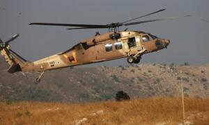 Helikopter Israel Tembakkan Rudal ke Posisi Tentara Suriah, Tiga Terluka