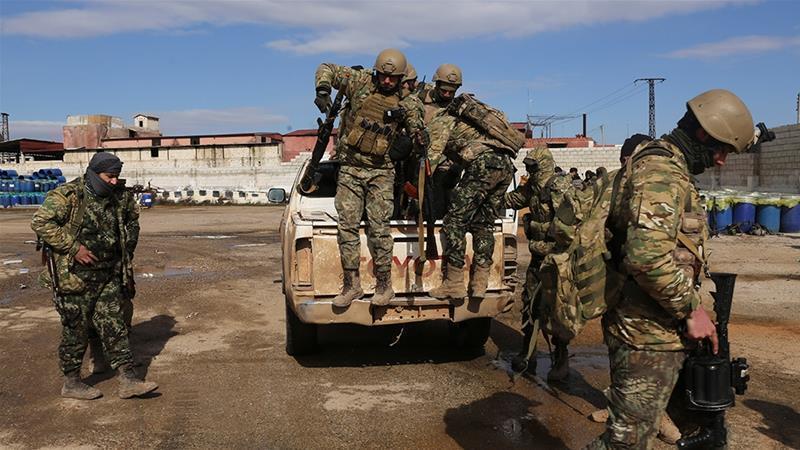 Tentara Turki di Idlib