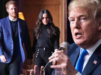 Harry- Markle Tanggapi Komentar Pedas Trump soal Dana Keamanan