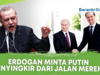 """Erdogan """"Usir"""" Rusia dari Suriah, Ini Jawaban Tegas Moskow"""
