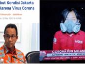 """Sebar Ketakutan Soal Corona, Yusuf Muhammad """"Semprot"""" Anies Baswedan dan Reporter TvOne"""