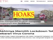 """Detik Sebar Berita Hoaks """"Iran Lockdown"""""""