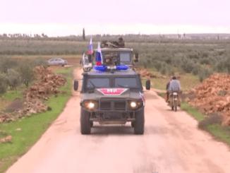 Polisi Militer Rusia Iringi 13 Konvoi Kendaraan Turki di Idlib
