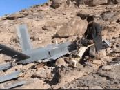 Militer Yaman Tembak Jatuh Drone Saudi di Jizan