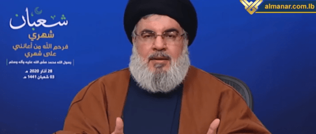 Sekjen Hizbullah Ibaratkan Konfrontasi dengan Virus Corona Seperti Perang Dunia