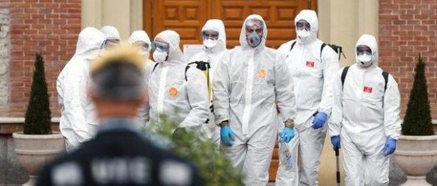 Tingkat Kematian Akibat COVID-19 di Spanyol Lampaui China