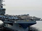 Hasil Tes: 155 Kru Kapal Induk USS Roosevelt Positif Terinfeksi Corona