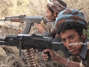 Tentara Houthi Rilis Video Penargetan Besar Kendaraan Musuh dengan Rudal Berpemandu
