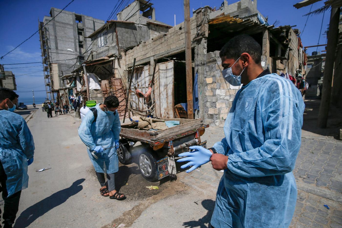 Ditengah Blokade Israel, Kasus Baru Covid-19 Terus Bertambah di Jalur Gaza