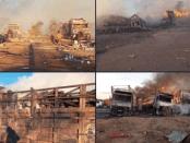Biadab, Jet-jet Koalisi Saudi Bombardir 12 Truk Sarat Bahan Makanan di Yaman
