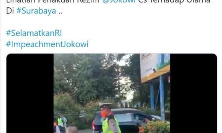 Akun @SorotMata212 Potong Video Viral Umar Segaf Langgar PSBB untuk Sebar Provokasi