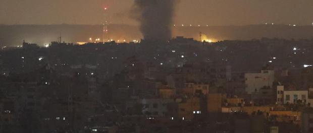 Israel Serang Jalur Gaza sehari Pasca Serangan ke Suriah
