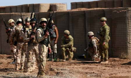 Dua Roket Hantam Pangkalan Militer yang Tampung Pasukan AS di Irak