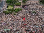 Demo Ribuan Warga Israel Tolak Rencana Netanyahu Aneksasi Tepi Barat