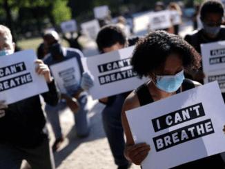 Demonstran Gerebek Kedubes AS di Paris, Kecam Pembunuhan George Floyd