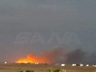 VIDEO Ledakan Besar Guncang Gudang Senjata SDF di Qamishli