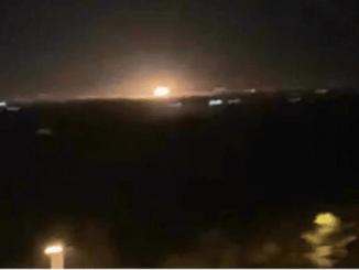 Pesawat Tak Dikenal Bombardir Tentara Suriah di Albukamal