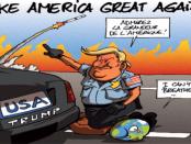 Israel, Lobi Yahudi dan Kebrutalan Polisi AS