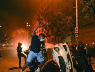 Polisi AS Tangkap 4400 Demonstran, Tentara Tembaki Pengunjuk Rasa