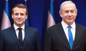 Macron Minta Netanyahu Hentikan Rencana Aneksasi Tepi Barat