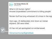 Iran: Teluk Persia Telah Lama Saksikan Kejahatan AS