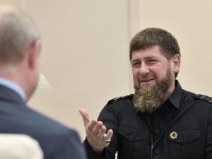 Putin Anugerahi Kadyrov Pangkat Jendral Tertinggi Militer