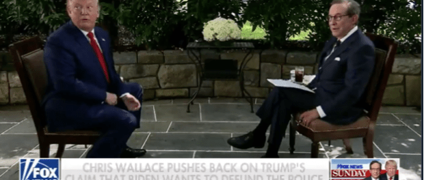 Video Trump Cekcok Sengit dengan Reporter Fox News saat Wawancara Eksklusif