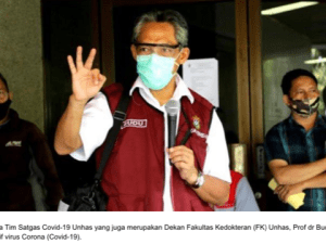 "BREAKING NEWS! FK Unhas ""Lockdown"" Pasca Prof Budu Positif Corona"