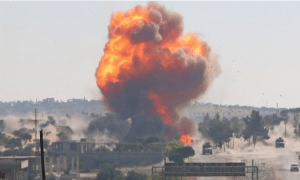 Video: Patroli Rusia-Turki Diserang Bom di Idlib