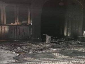 Para Pemukim Israel Bakar Masjid di Tepi Barat
