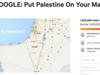 Lebih dari Sejuta Orang Tanda Tangani Petisi Tuntut Google Akui Palestina di Peta